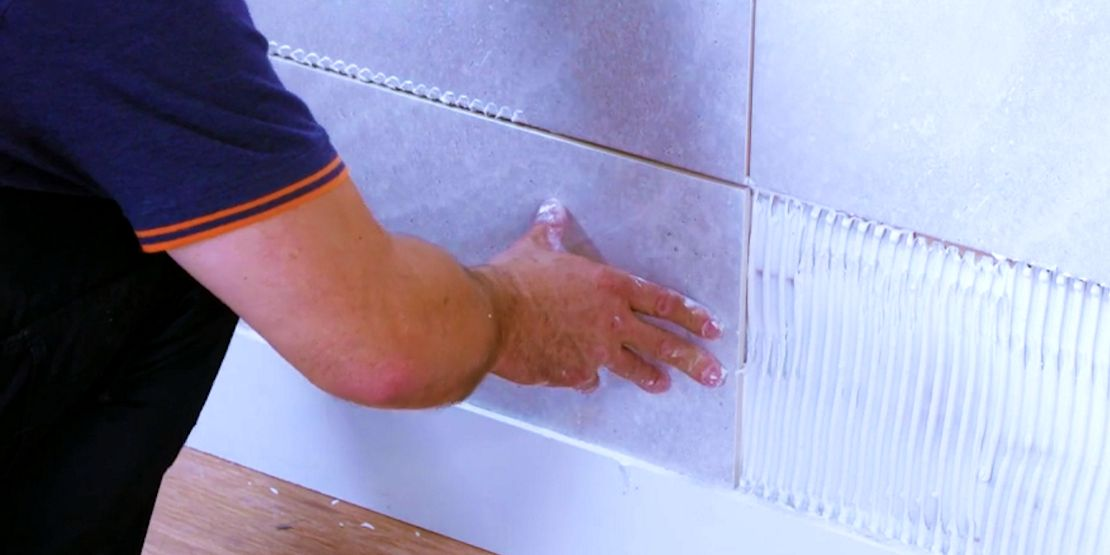 How To Tile A Wall Wickes Co Uk