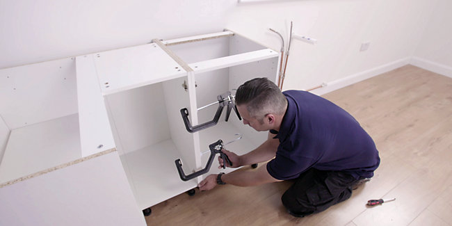 Fitting Kitchen Units Wall Mount Kitchen Cabinets Wickes