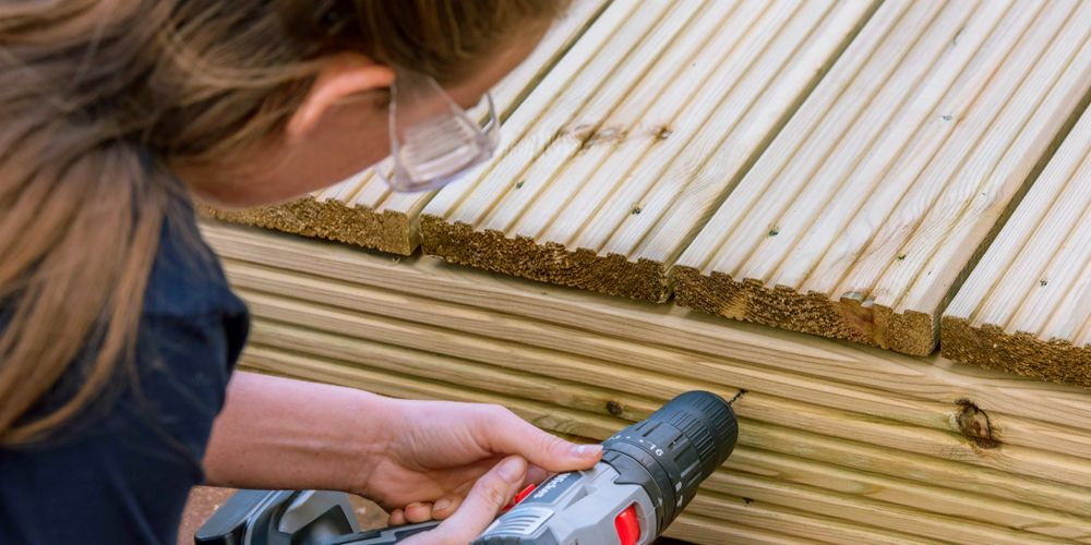 Laying a deck