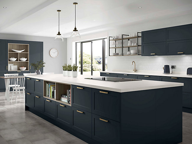 Blue Kitchens Blue Kitchen Cabinets Units Wickes