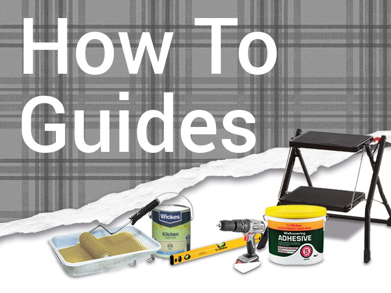 View our simple how to guides to help you with your DIY project