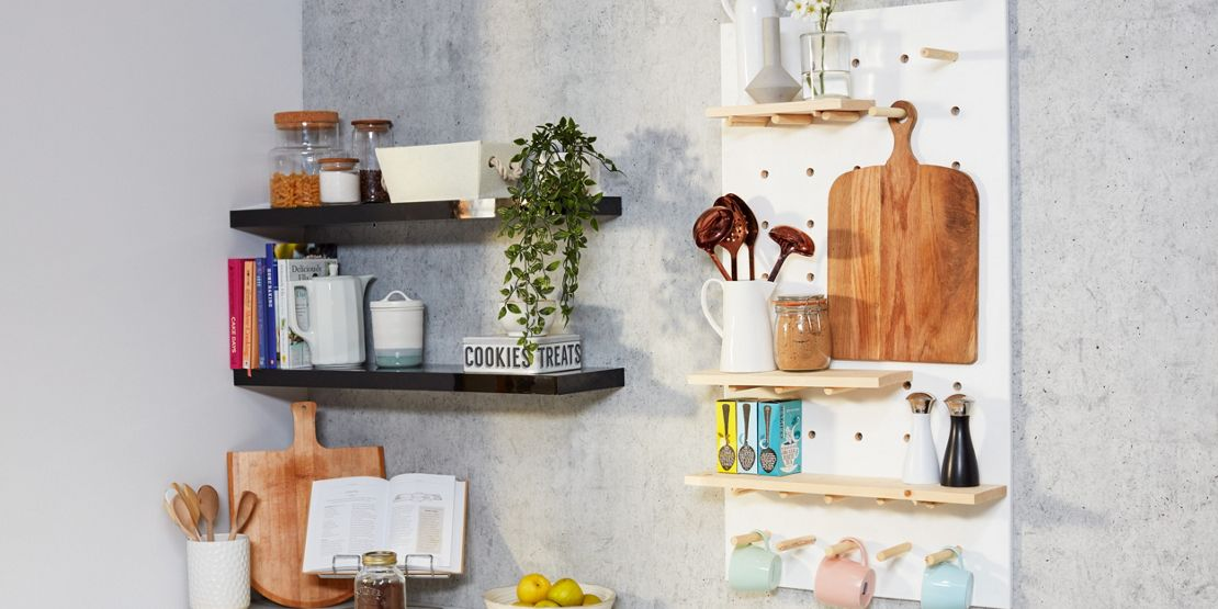 Organise the kitchen pantry