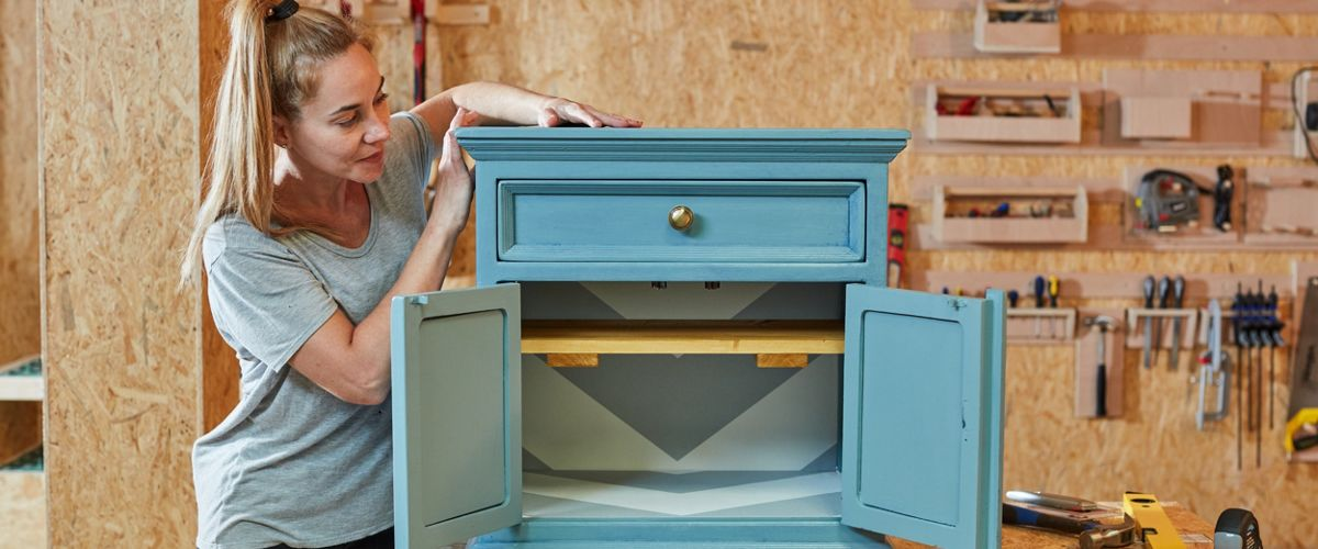 How to upcycle a bedside table Ideas & Advice