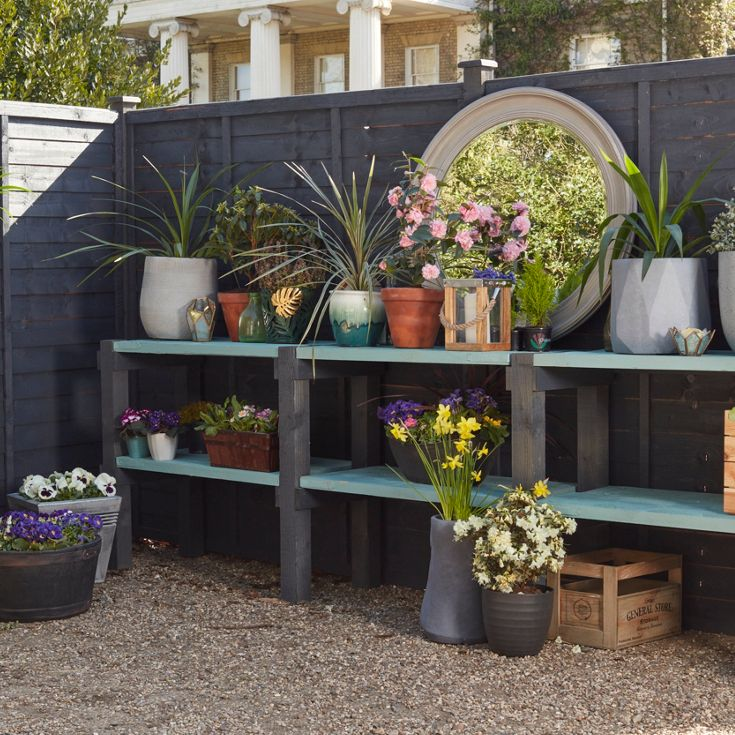 Fence shelving project