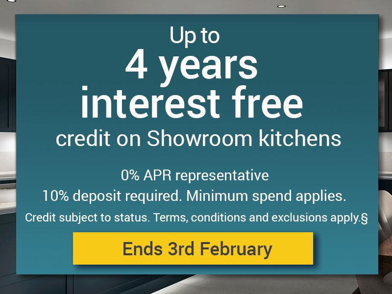 Up to 4 years interest free credit