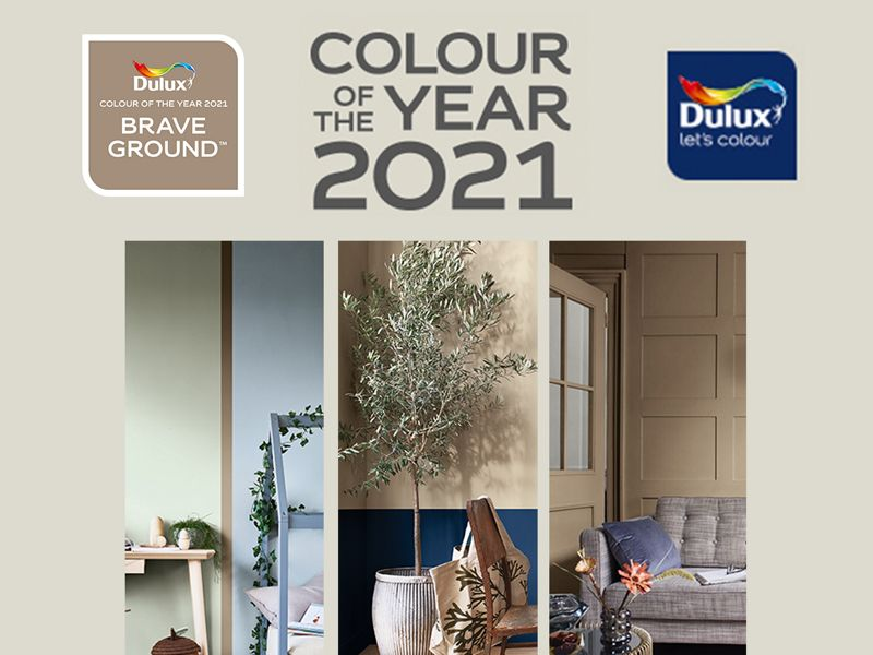 Dulux Colour of the Year 2021: Brave Ground