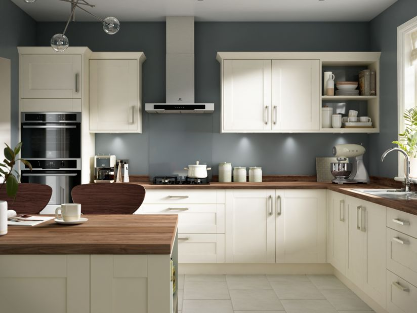 Kendal cream - 10x10 kitchen designs with island ...