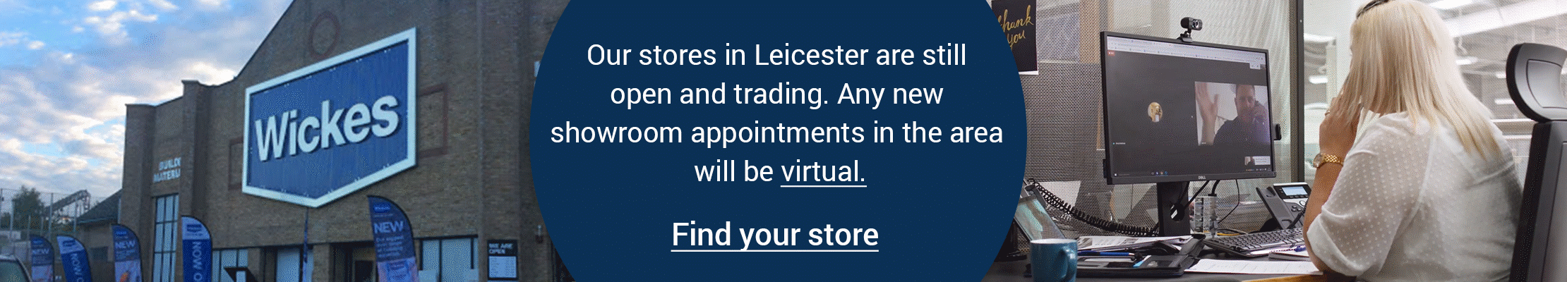 Our Leicester stores are still open and trading
