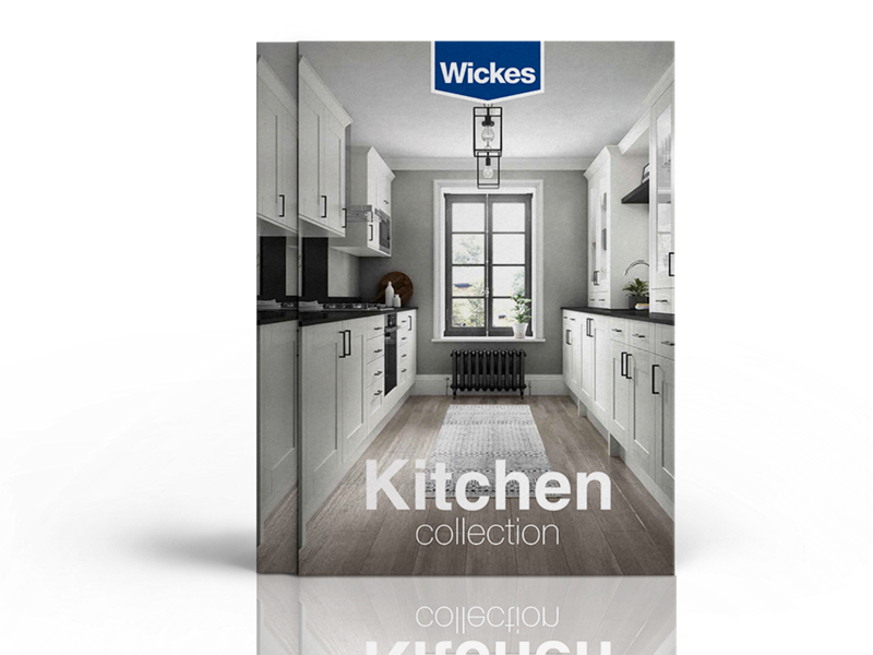 Wickes Showroom kitchen brochure