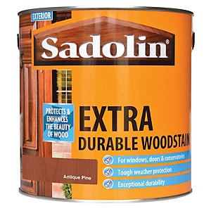 Sadolin Extra Durable Woodstain Antique Pine 2.5L