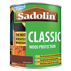 Image of Sadolin Classic Woodstain Mahogany 1L