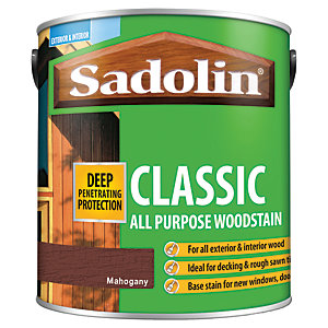 Image of Sadolin Classic Woodstain Mahogany 2.5L