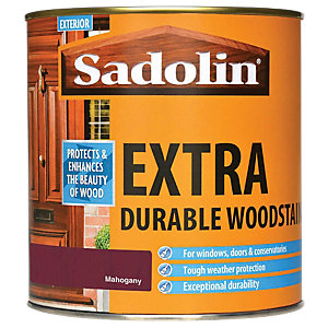 Sadolin Extra Durable Woodstain Mahogany 1L