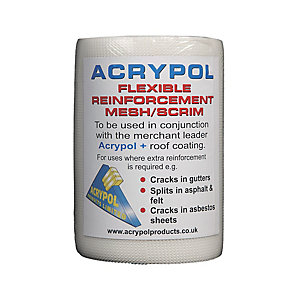 Image of Acrypol Flexible Reinforcement Scrim Tape - 150mm x 20m