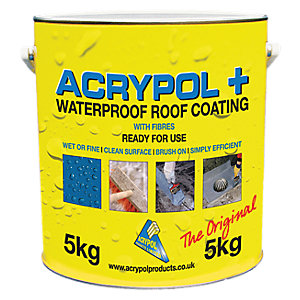 Image of Acrypol + White Solar Waterproof Coating - 5kg