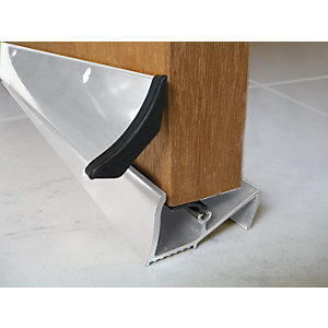 Image of Wickes Threshold and Rain Deflector White 838 mm