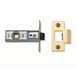 Yale P-M888PB-64 Tubular Door Latch - Brass 64mm
