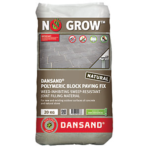 Image of Dansand No Weed Polymeric Block Paving Joint Fix - 20kg