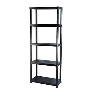 Image of Addis 5 Tier Plastic Shelving Unit