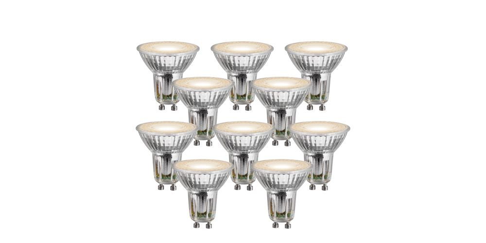 Wickes LED Cree GU10 Light Bulbs - 5W Pack of 10