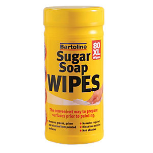 Image of Bartoline XL Sugar Soap Wipes - Pack of 80