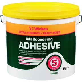 Wickes Ready Mixed Wallpaper Paste 5kg