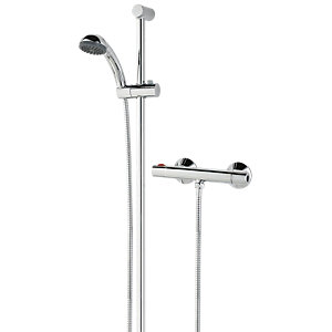 Bristan Zing Cool Touch Chrome Thermostatic Bar Mixer Shower