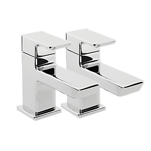 Bristan Cobalt Bath Taps - Chrome