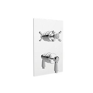 Image of Bristan Renaissance Recessed Shower Valve - Chrome