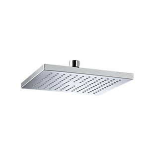 Image of Bristan Square Wall Mounted Shower Head & Arm