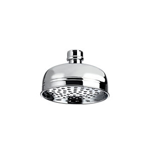 Image of Bristan Traditional Round Wall Mounted Shower Head & Arm