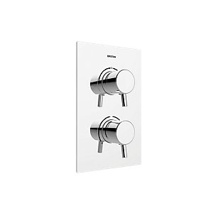 Image of Bristan Prism Recessed Shower Valve - Chrome