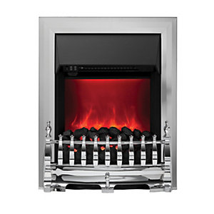 Camberley Electric Inset Fires Chrome