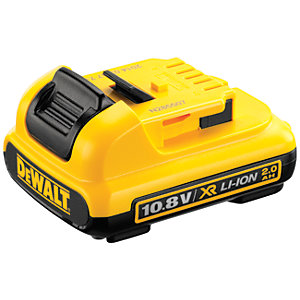 Image of DeWalt 10.8V Li-ion Battery DCB127XJ 2.0AH Battery