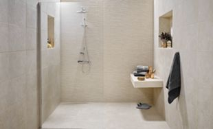 Wickes Mayfield Beige Ceramic Tile 600 x 300mm | Wickes.co.uk
