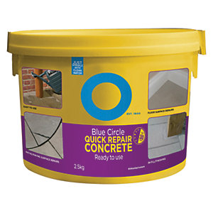 Image of Blue Circle Quick Repair Concrete - 2.5kg
