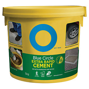 Image of Blue Circle Extra Rapid Setting Cement - 5kg