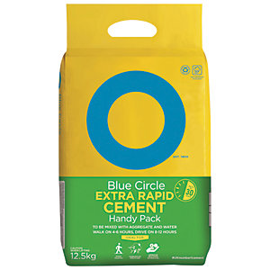 Image of Blue Circle Extra Rapid Setting Cement Mixer Bag - 12.5kg