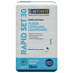 Image of Setcrete Rapid Setting Floor Levelling Compound - 16kg