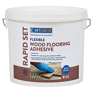 Image of Setcrete Flexible Wood Flooring Adhesive - 8kg