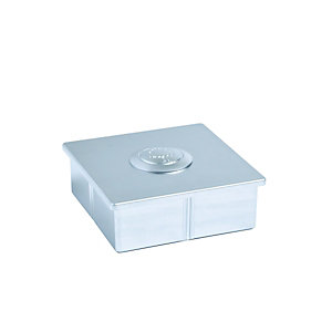Compare retail prices of Axxys Dek Post Cap Silver 100 x 100 x 35mm to get the best deal online