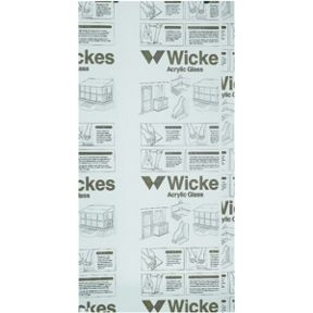 online store 051b7 4ac39 Wickes Durable Clear Acrylic Sheet - 900mm X 1800mm