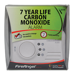 Image of FireAngel 7 Year Sealed Battery Carbon Monoxide Alarm