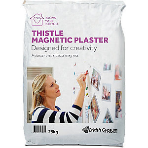 Image of British Gypsum Thistle Magnetic Plaster - 25kg