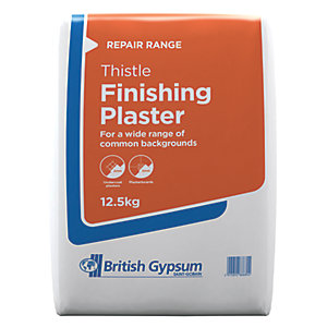 Image of British Gypsum Thistle Finishing Plaster - 12.5kg
