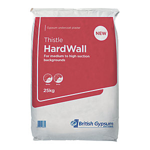 Image of British Gypsum Thistle Hardwall Plaster - 25kg