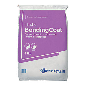 Image of British Gypsum Thistle Bonding Coat Plaster - 25kg