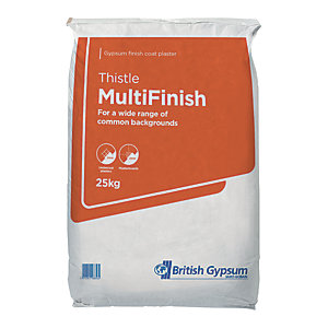 Image of British Gypsum Thistle Multi Finish Plaster - 25kg