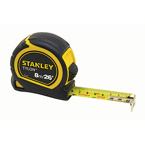 Image of Stanley 0-30-656 Tylon Tape Measure - 8m