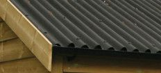 Bitumen Corrugated Sheets & Trims